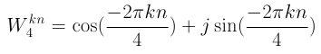 Euler's Formula for W_4