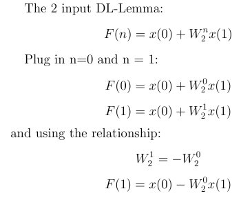 DL Lemma and Butterfly 2 Input Match