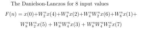 DL Lemma for 8 Input Values